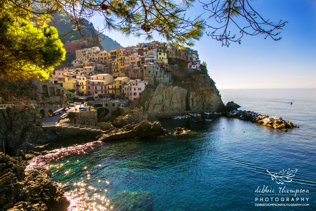 The Cinque Terre is a rugged portion of the coast on the Italian Riviera