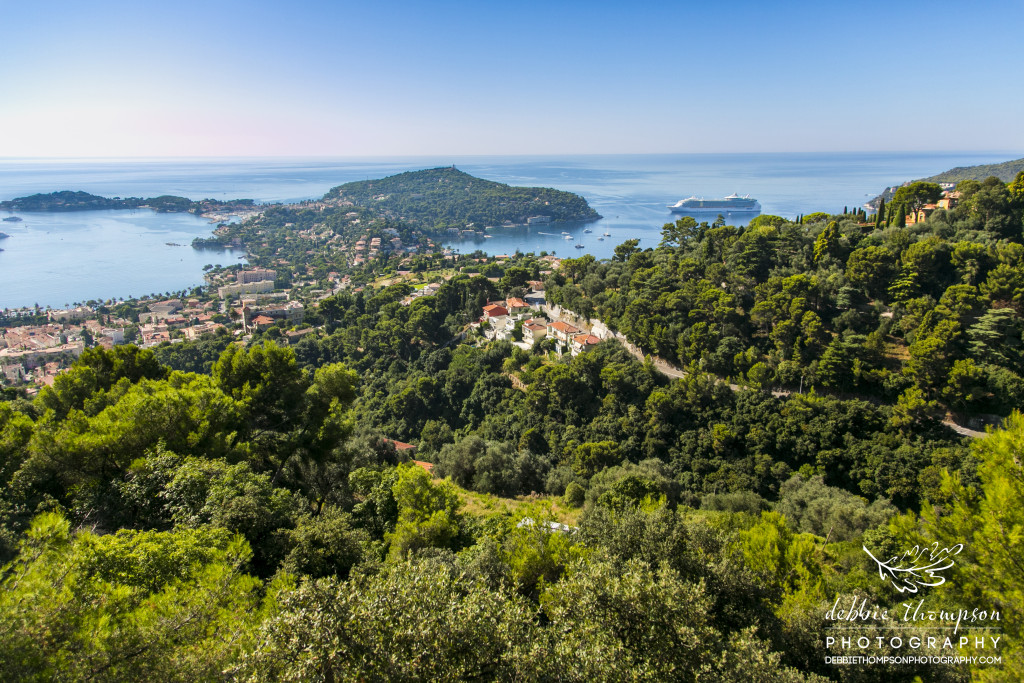 The view from Eze Village, France