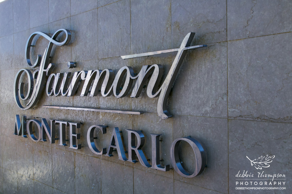The world famous Monte Carlo Fairmont Hotel