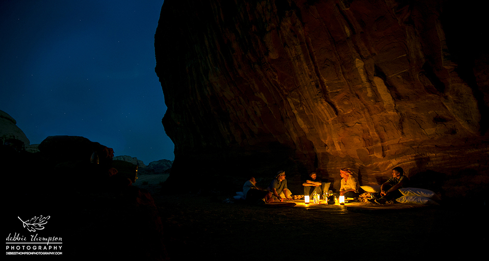 Camping under the stars with Bedouins in Wadi Rum, Jordan