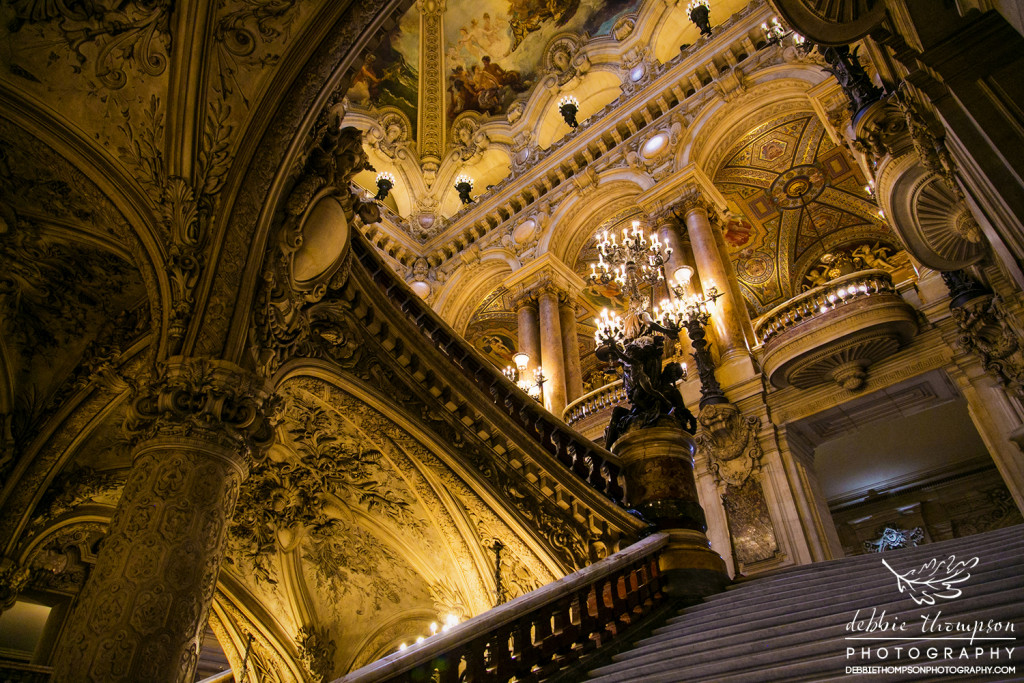 The Palais Garnier is a 1,979-seat opera house, which was built from 1861 to 1875 for the Paris Opera.