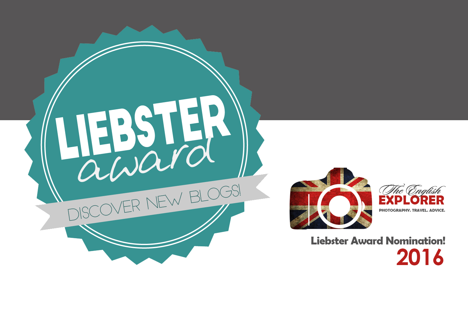Liebster Award Nomination!!